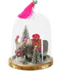 Cody Foster Collectables Festive Yak globe